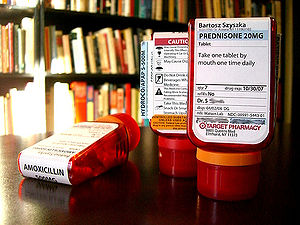 Image of Target ClearRx prescription bottles b...
