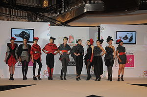 finale of fashion show
