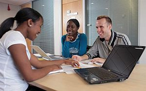 300px-Salford_Business_School_students1
