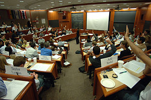 300px-Students_in_a_Harvard_Business_School_classroom1