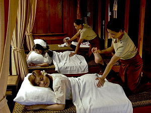English: Thai Massage