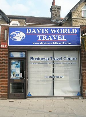 English: Travel agents in West Street
